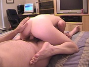 horny blond housewife treated