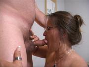 sexy slut gives hunk