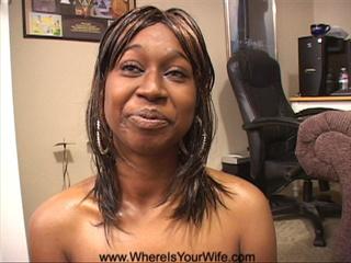 Bitchy black slut nakedly wanting sex - Picture 4
