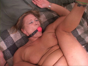 blond fucked doggystyle astride