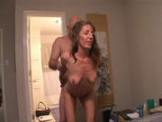 mature wife fucked from