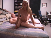 mature blond wife enjoys