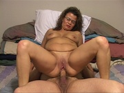 plump mature brunette butt-fucked