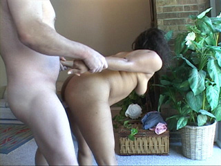 Horny Brazilian mama moans as she has her ass fucked - Picture 1
