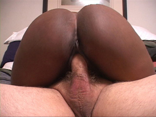 Hot big black mama takes off clothes to suck dick and - Picture 4
