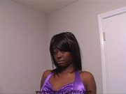 sexy ebony girl purple