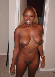very seductive black chick