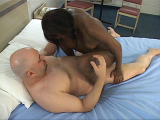 Young black girl has her small cute ass worked upon by - Picture 4