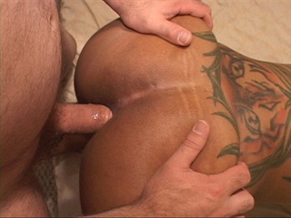 Sexy hot ebony enjoys her ass fucked hard and some sweet - Picture 1