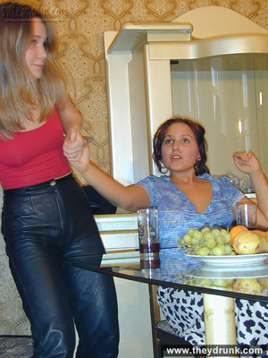 Naughty young girls teasing each other and please each other's pussy with licking and banana - XXXonXXX - Pic 2