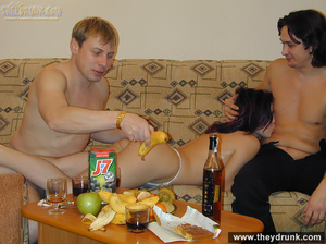Guy brings home his friend for his cock-hungry girl for a hot threesome fun - XXXonXXX - Pic 13