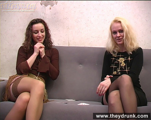 Young coquette lesbians have sexy fun with strip poker - XXXonXXX - Pic 3