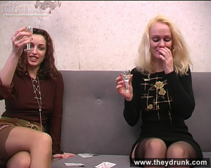 Young coquette lesbians have sexy fun with strip poker - XXXonXXX - Pic 5