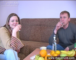 Slutty young blond teases her guy untill he gives his cock in her mouth - XXXonXXX - Pic 1