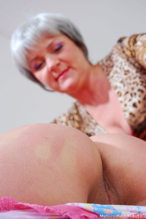 Strict mom punishes bad girl with spanking and drives her into hot lesbian sex - XXXonXXX - Pic 9