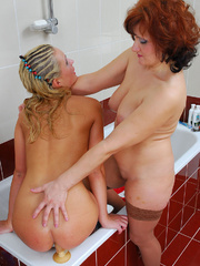 Mom finds daughter's dildo in bathroom and she - XXXonXXX - Pic 13