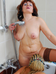 Mom finds daughter's dildo in bathroom and she - XXXonXXX - Pic 18