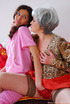 Naughty pinky teen trained by mom to please her