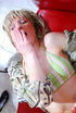 Shy teen babe surprised by horny mature lesbian…