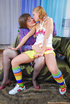 Lesbian mistress wants her teen made to take a…