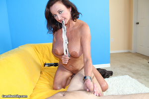 Sultry MILF slobbered with loads of dick juice - XXXonXXX - Pic 7