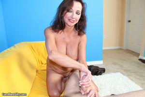 Sultry MILF slobbered with loads of dick juice - XXXonXXX - Pic 9