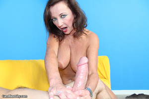 Sultry MILF slobbered with loads of dick juice - XXXonXXX - Pic 10