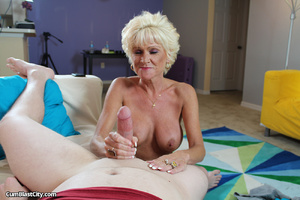 Horny cougar absolutely amazed with whopping nut blast - XXXonXXX - Pic 11