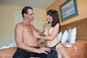 Perverted mom rewarded by massive cumshot from daughter's old boyfriend - XXXonXXX - Pic 5