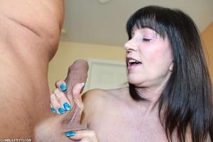 Perverted mom rewarded by massive cumshot from daughter's old boyfriend - XXXonXXX - Pic 7
