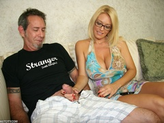 Sexy MILF wanks the repairman as payment gets - XXXonXXX - Pic 2