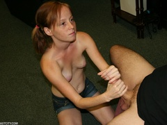Teen slut gets mega sized loads of cum on her face - XXXonXXX - Pic 3