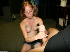 Teen slut gets mega sized loads of cum on her face - XXXonXXX - Pic 5