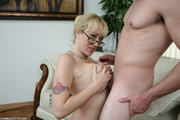 busty cougar gets her