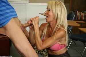 Lusty granny enjoyed a cum blast - XXXonXXX - Pic 6