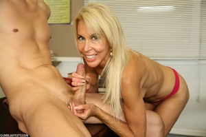 Lusty granny enjoyed a cum blast - XXXonXXX - Pic 8