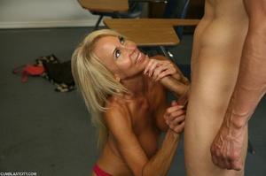 Lusty granny enjoyed a cum blast - XXXonXXX - Pic 9
