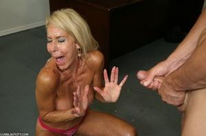 Lusty granny enjoyed a cum blast - XXXonXXX - Pic 11