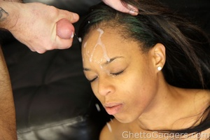 Hardknocking blowjob works from an Ebony beauty - XXXonXXX - Pic 10
