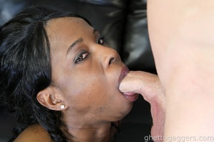 A seductive temptress for a nasty deep throat job - XXXonXXX - Pic 4