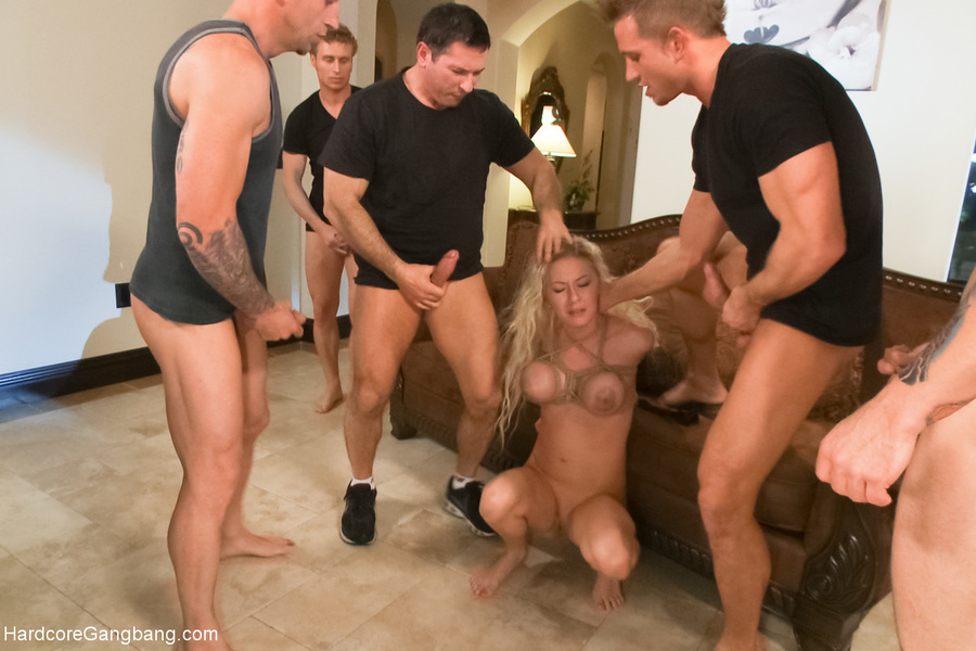 Authoritative answer, Gangbang swapping hubby humiliated seems