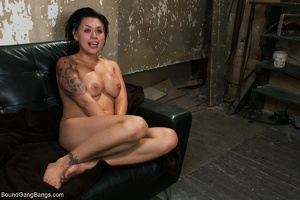 Busty tattooed bitch assdrilled with two - XXX Dessert - Picture 11
