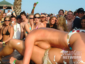 Hit the beach with our camera crew for this insane spring break party where clothing is optional! - XXXonXXX - Pic 2