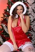 Seductive damsel in Xmas outfit goes wild before…