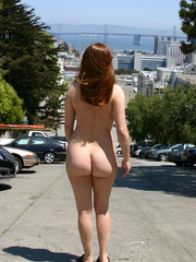 Hot sexy chicks looking seductive nude in public - XXXonXXX - Pic 2