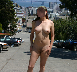 Hot sexy chicks looking seductive nude in public makes even a dog stop to stare - XXXonXXX - Pic 4