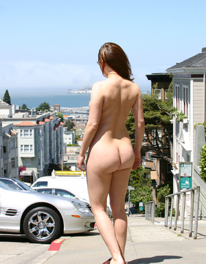 Hot sexy chicks looking seductive nude in public makes even a dog stop to stare - XXXonXXX - Pic 5