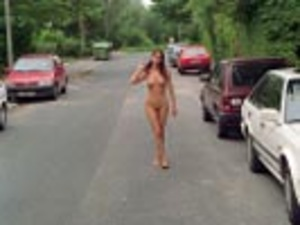 Hot sexy chicks looking seductive nude in public makes even a dog stop to stare - XXXonXXX - Pic 8