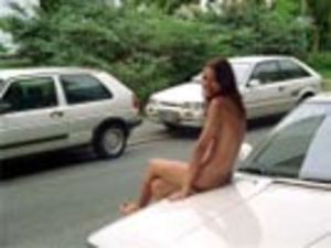 Hot sexy chicks looking seductive nude in public makes even a dog stop to stare - XXXonXXX - Pic 9