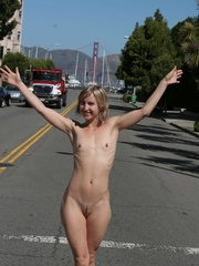Cute nude girls with stunning figures walking nude - XXXonXXX - Pic 1